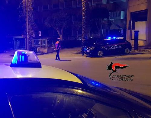 Trapani: controlli dei carabinieri al centro storico, denunce e sanzioni