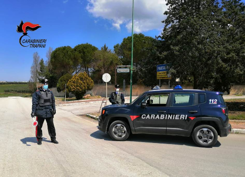 Partanna: guida senza patente, una denuncia