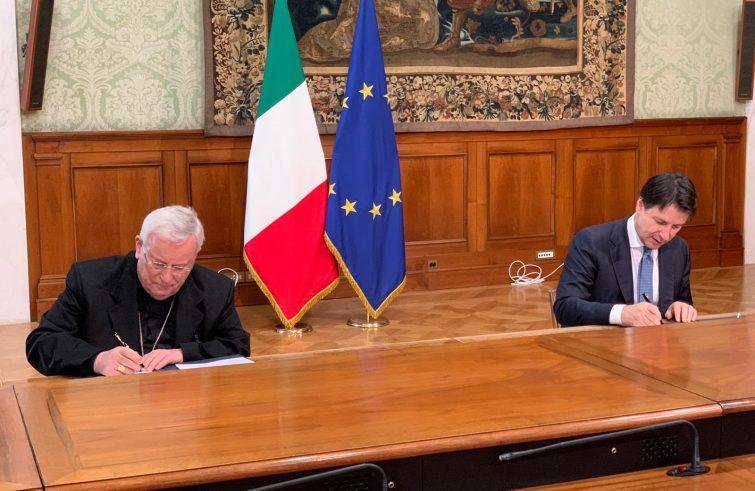 Fase 2, accordo raggiunto tra Governo e Cei