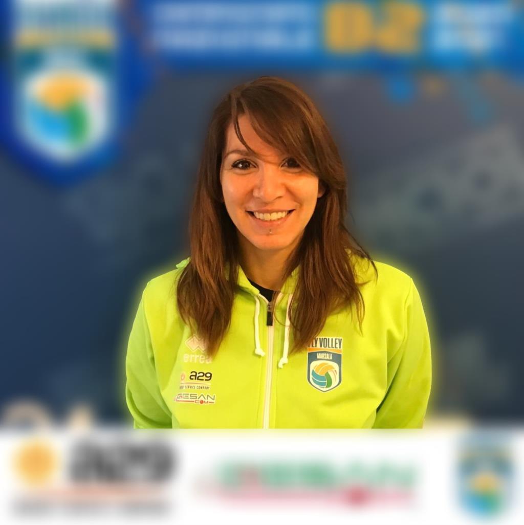 Carmen Bellapianta alla Volley Marsala