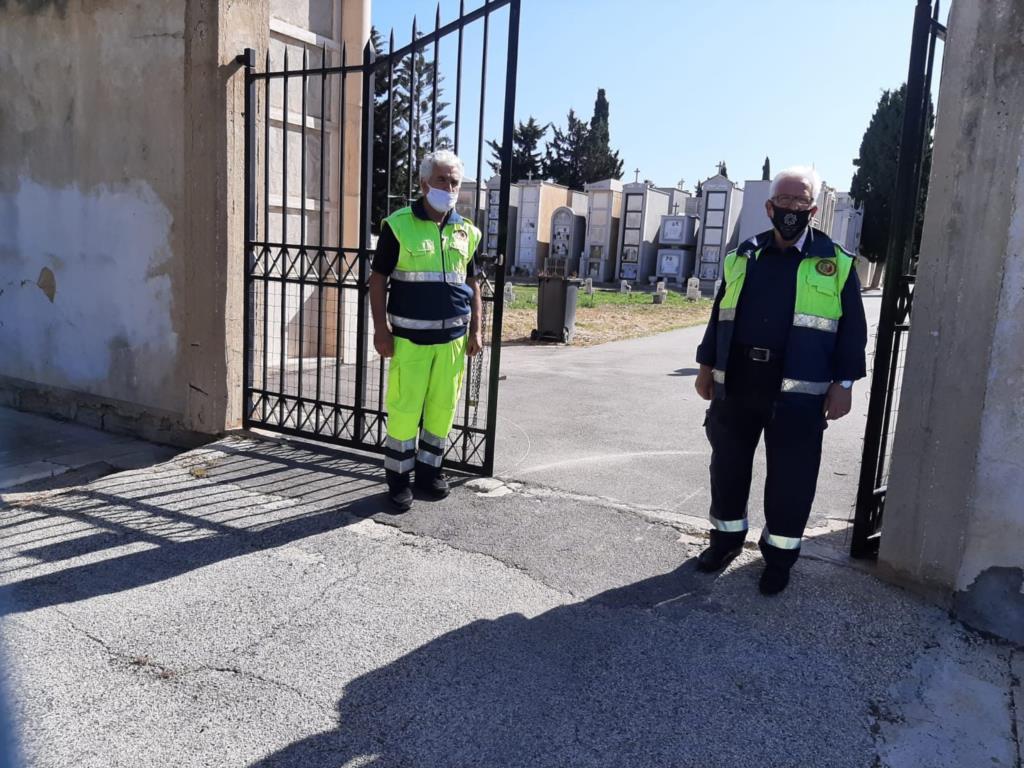 Paceco, ordinata l'apertura regolare del cimitero comunale