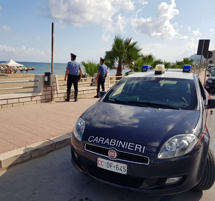 Trapani, controlli straordinari dei Carabinieri