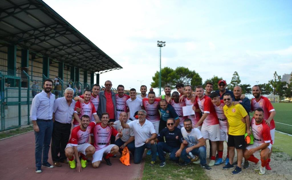 Tris del Custonaci al calcio Popolare Palermo