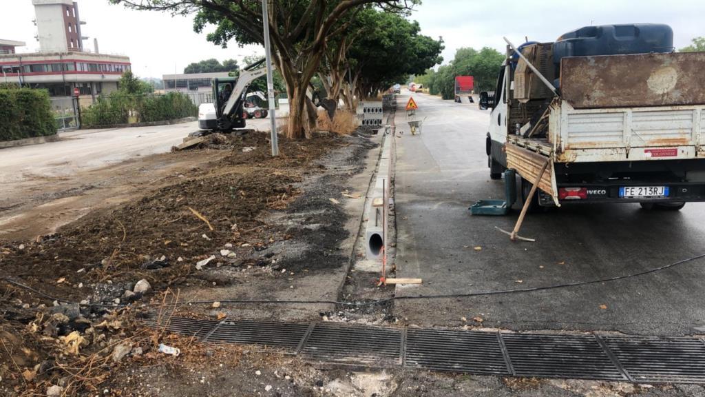 Contrada Milo, al via i lavori di messa in sicurezza stradale