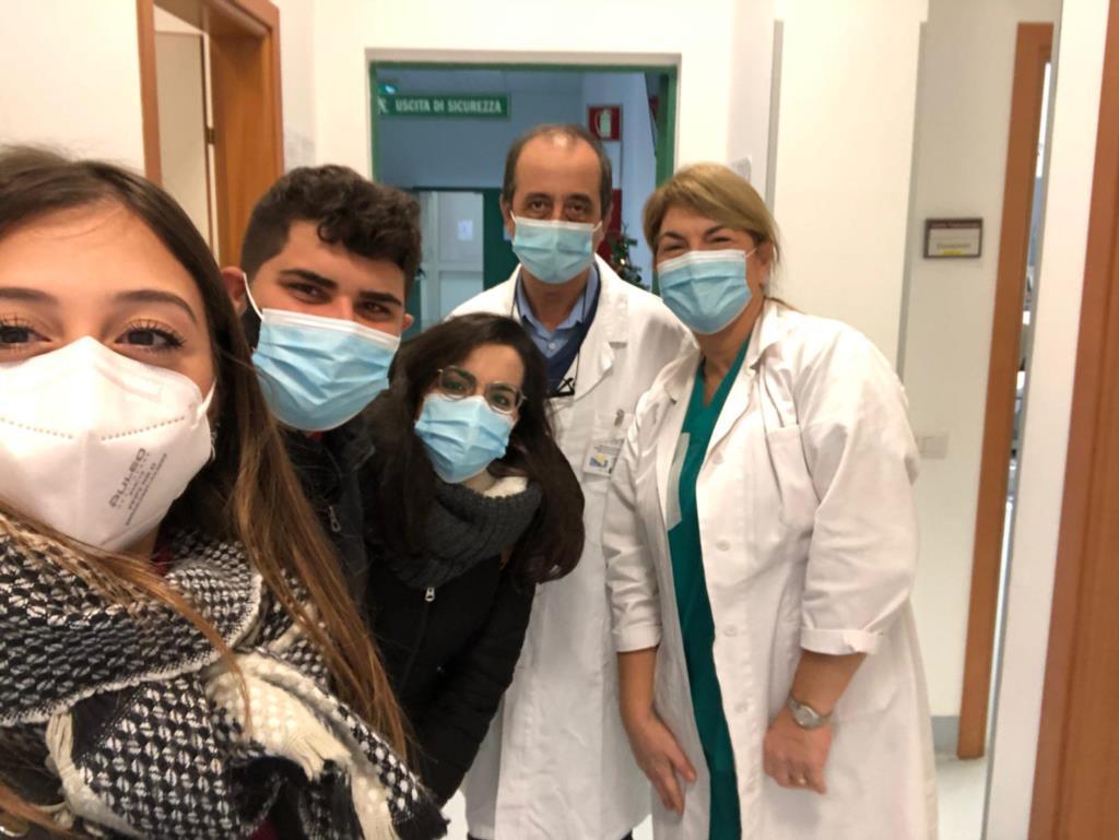 Un dono per il reparto di medicina trasfusionale a Trapani