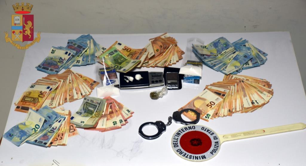 Mazara del Vallo: operazione antidroga da parte della Polizia, in manette un sorvegliato speciale