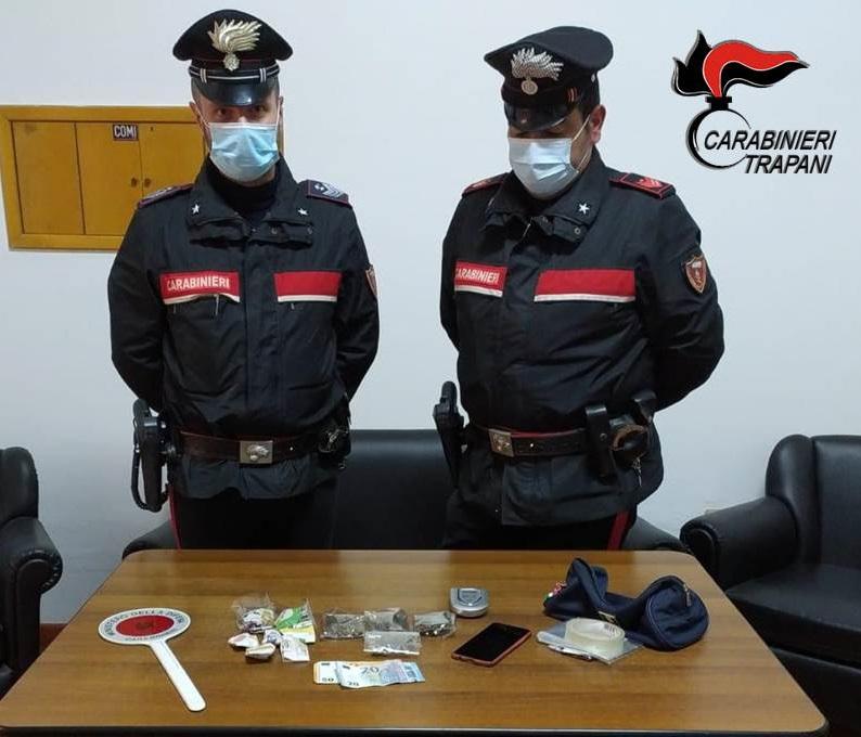 Alcamo, spaccio di stupefacenti: arrestato un giovane