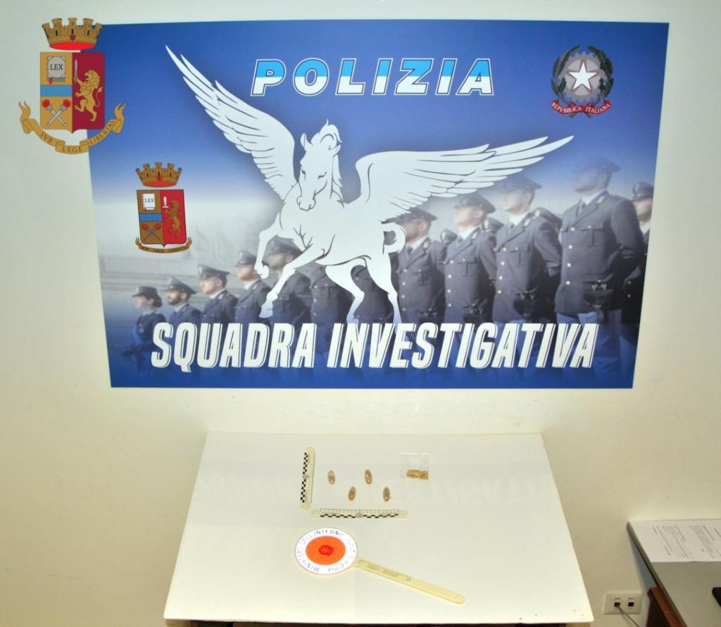 Mazara del Vallo, arrestato corriere della droga in trasferta