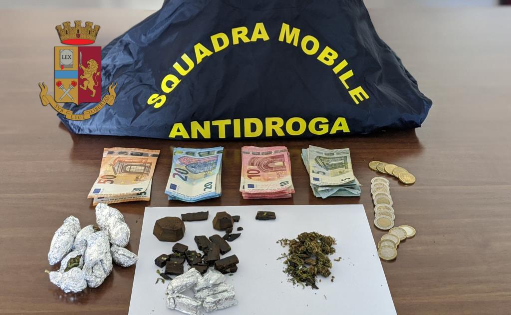 Spaccio di droga, un arresto nel centro storico di Trapani