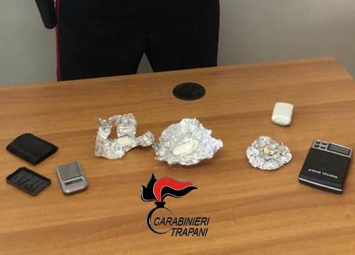 Trapani: droga nel filtro del camper, un arresto dei carabinieri
