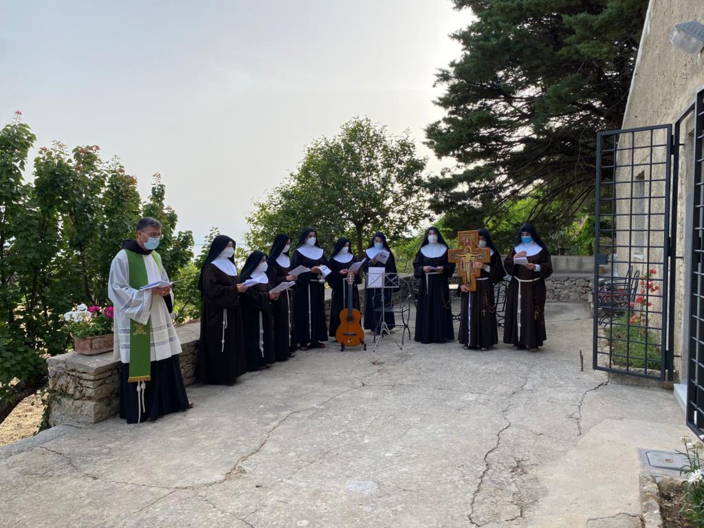 Inaugurato l'eremo - foresteria S. Francesco ad Erice