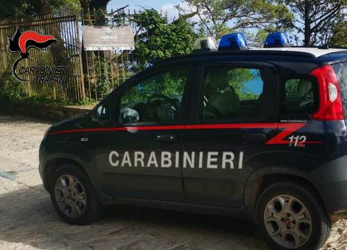 Erice: furto sventato grazie all'intervento dei carabinieri