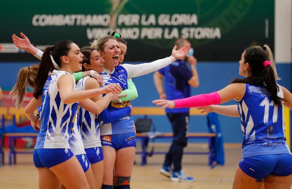 Play off Volley, la Tonno Auriga s'impone in campo esterno