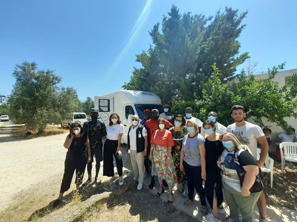 Badia Grande a Asp insieme per vaccinare i migranti