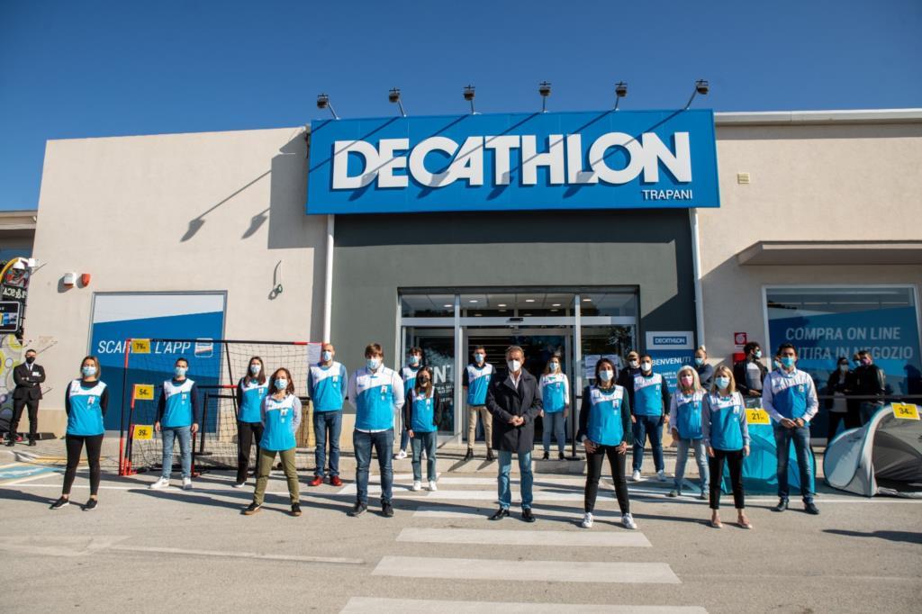 Aperto da oggi a Trapani il punto vendita Decathlon