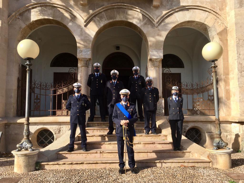 Favignana, celebrata per la prima volta la festa della Polizia Municipale