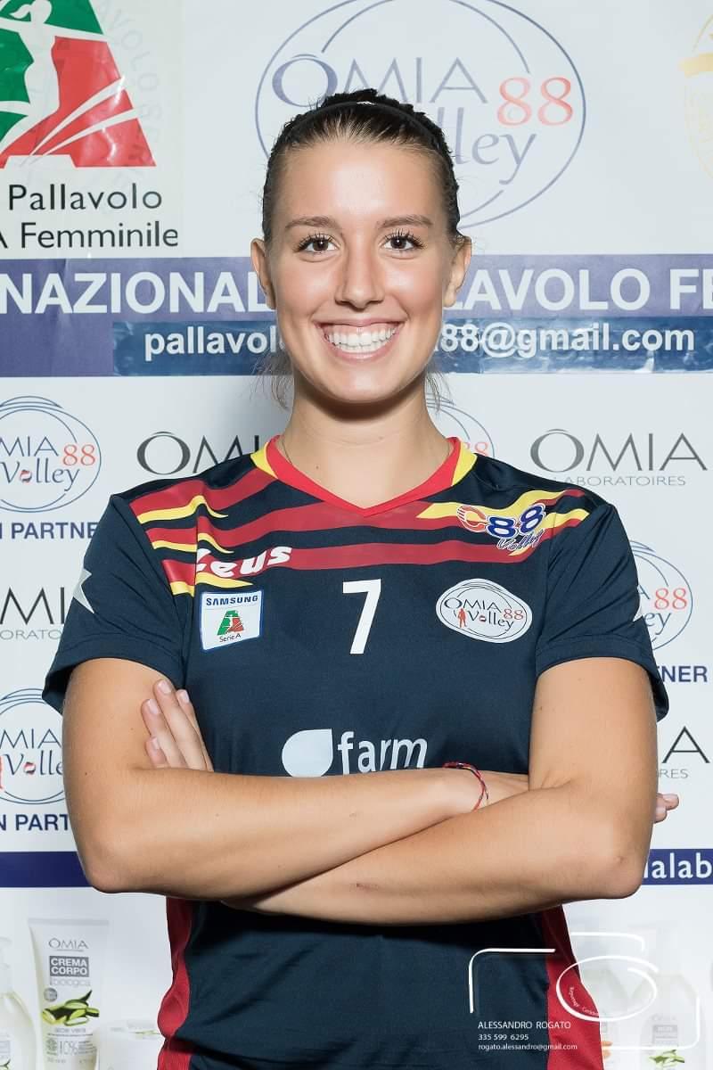 La A29 GesanCom Fly Volley Marsala ufficializza l'ingaggio di Giulia Modena