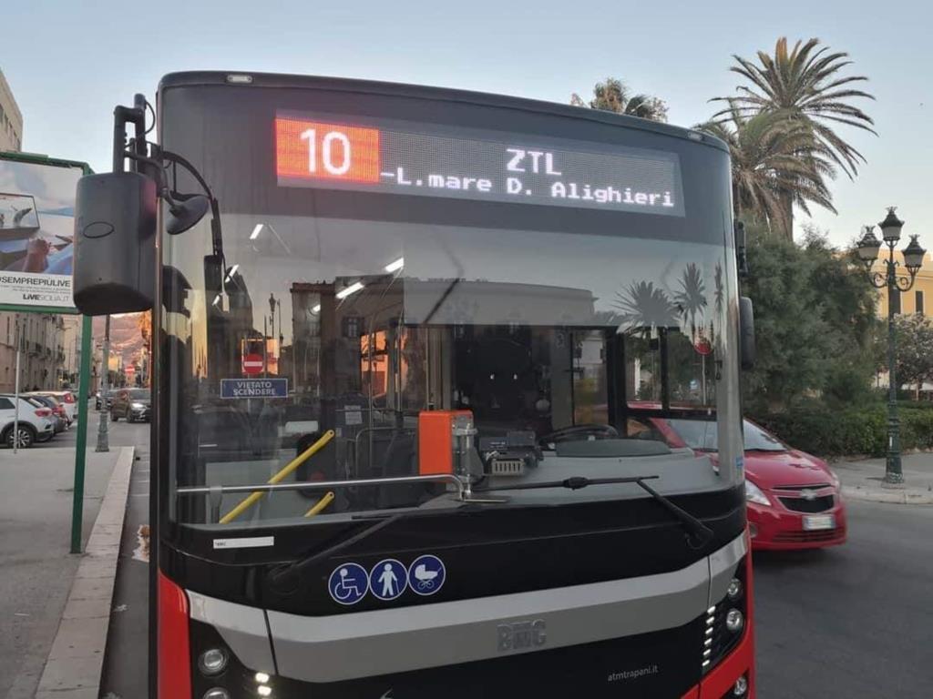 Ztl a Trapani, gli orari degli autobus e i numeri utili