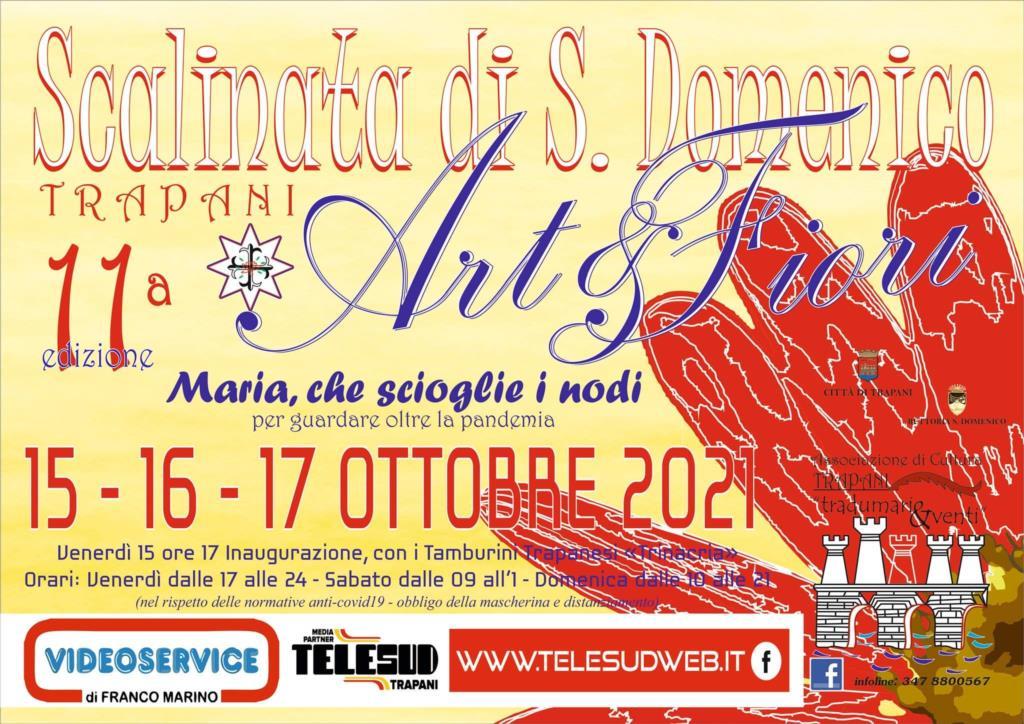 Tutto pronto a Trapani per l'XI edizione della SCALINATA SAN DOMENICO