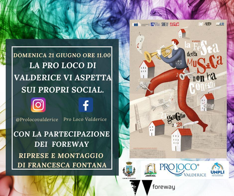 Pro Loco Valderice: festa della Musica 2020