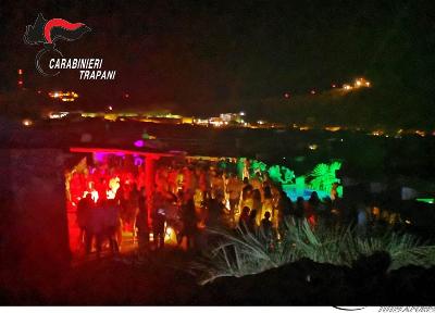 Pantelleria: festa in villa con 300 persone, denunciato l'organizzatore