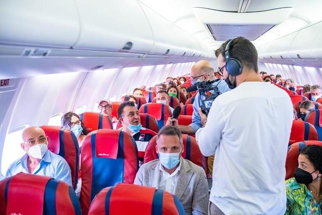 Birgi, successo per il volo senza destinazione partito dall'aeroporto Florio