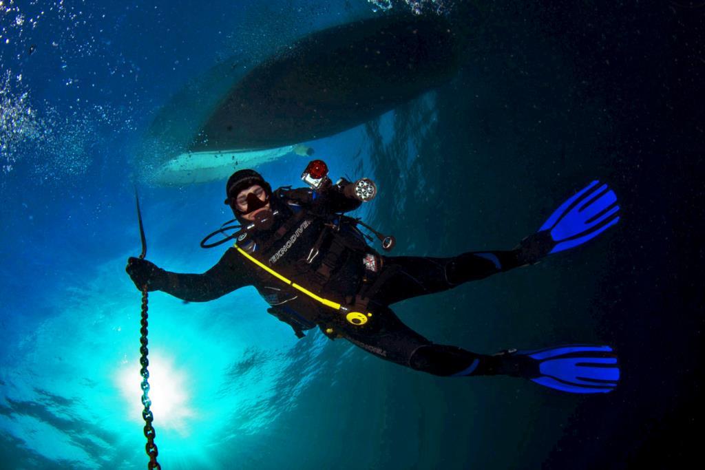 L'esperienza in mare di Sergio Friscia