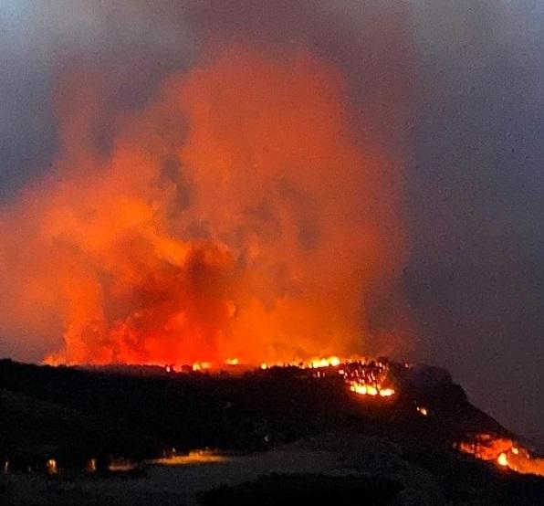 Il sindaco di Valderice sull'incendio: