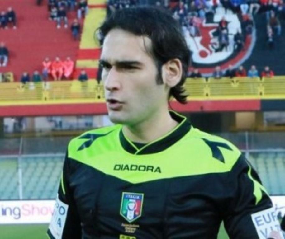 Giacomo Camplone giacchetta nera di Trapani-Benevento