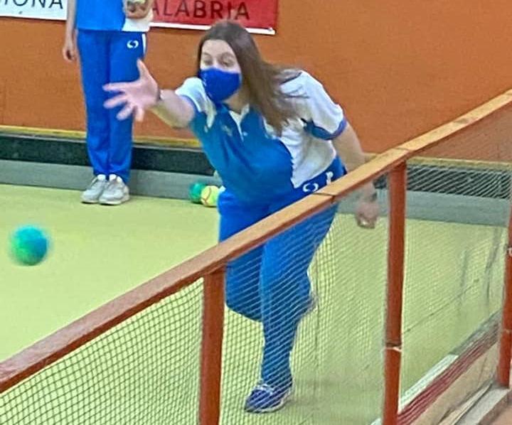 Giulia Simonte campionessa regionale di Bocce