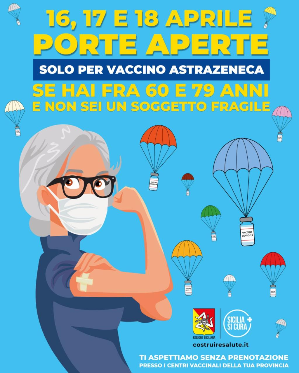 Vaccini anti covid: Open Day, ecco dove in provincia di Trapani