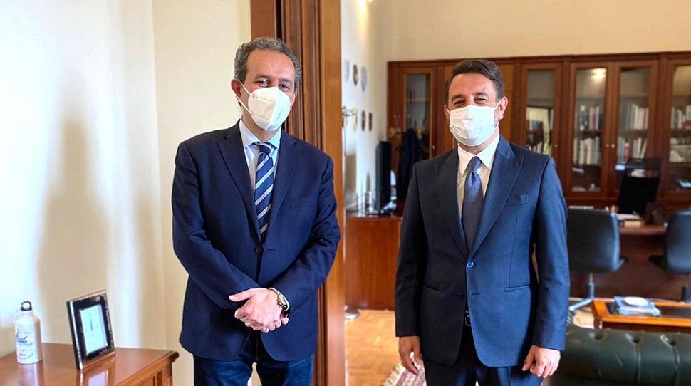 Bretella Birgi-Mazara del Vallo, Grillo incontra Cancelliere