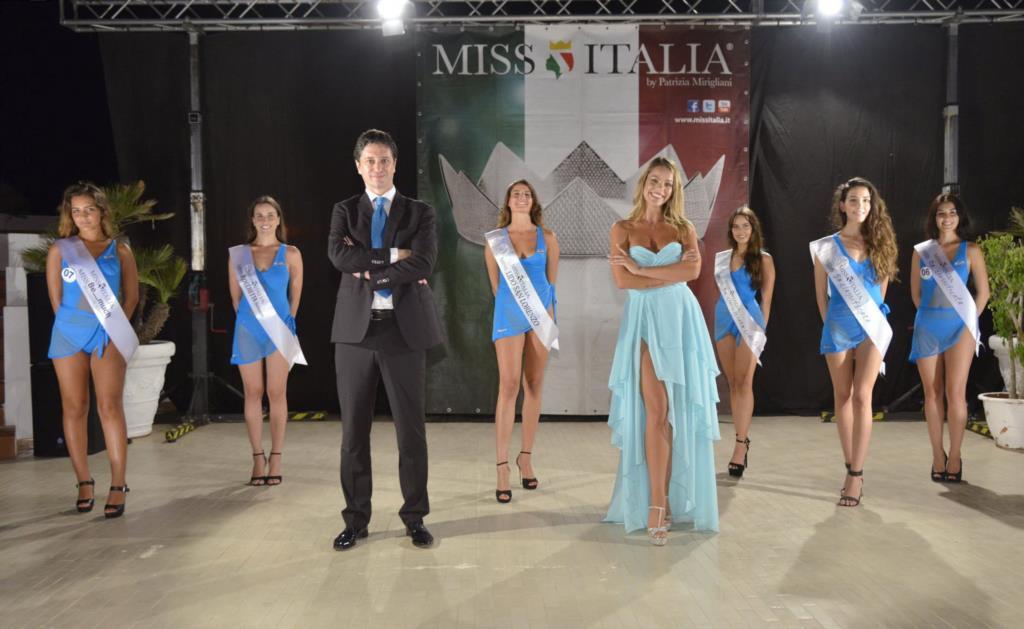 Miss Italia all' Ex Centro Polivalente Cerriolo di Custonaci