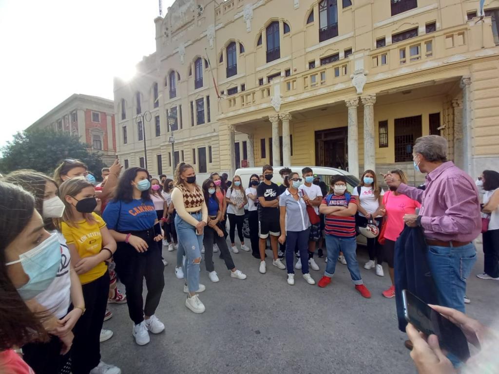 Trapani, trekking urbano per gli studenti dello Sciascia Bufalino