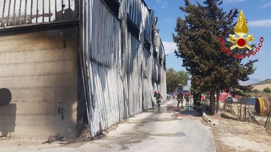 Impianto di contrada Belvedere, danni per circa due milioni di euro