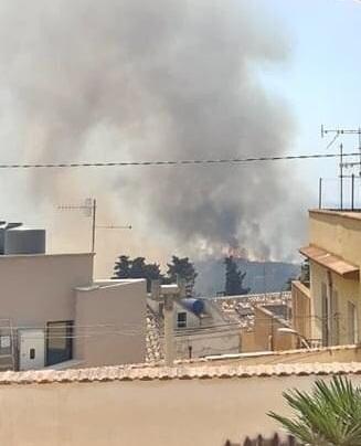 Diminuiscono gli incendi in provincia di Trapani