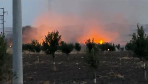 Trapani: incendio in contrada Porticalazzo