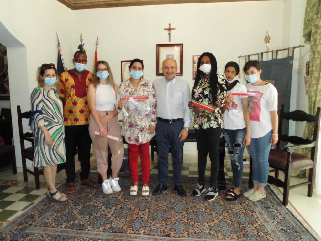 Paceco, il sindaco incontra le ospiti del centro Siproimi