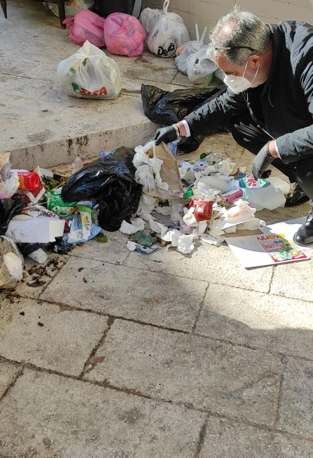 Castellammare, scattano le ispezioni sui rifiuti abbandonati