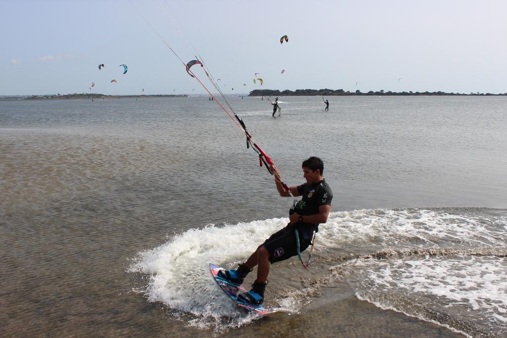 Terminati nelle acque dello Stagnone i campionati nazionali di Kit Surf