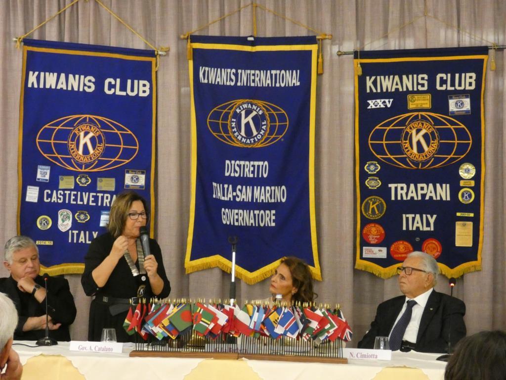 Trapani, passaggio di campana al Kiwanis Club