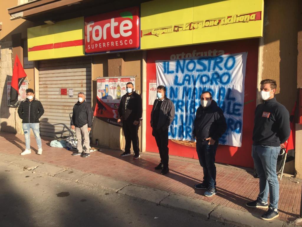 Tornano a scioperare i lavoratori del Fortè