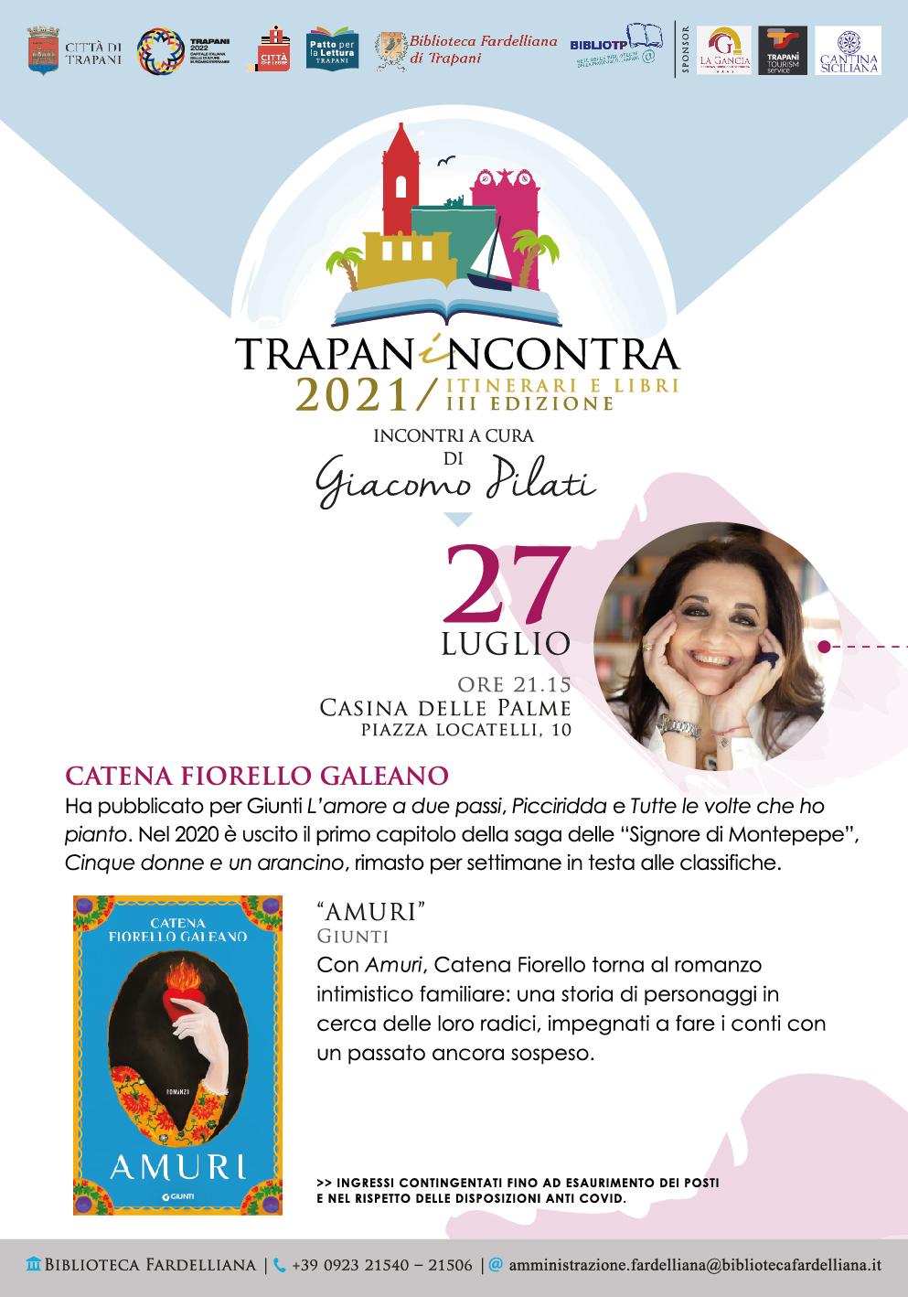 A Trapanincontra arriva Catena Fiorello