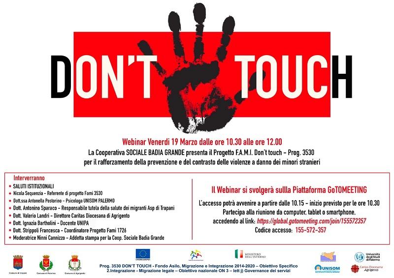 La cooperativa Badia Grande presenta «Don't touch»