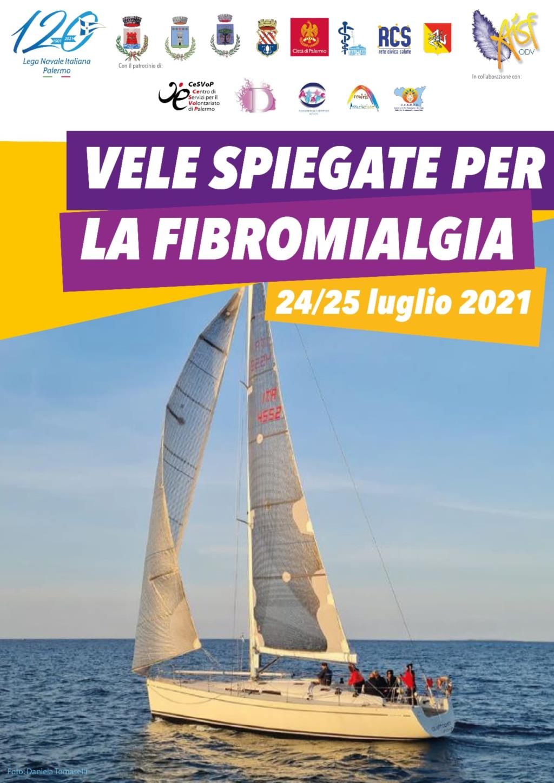 A Castellammare 'Vele spiegate per la fibromialgia'