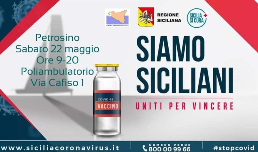 Vaccini, Open Day sabato a Petrosino