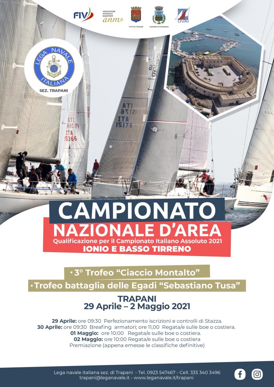 Weekend di vela a Trapani con tre competizioni