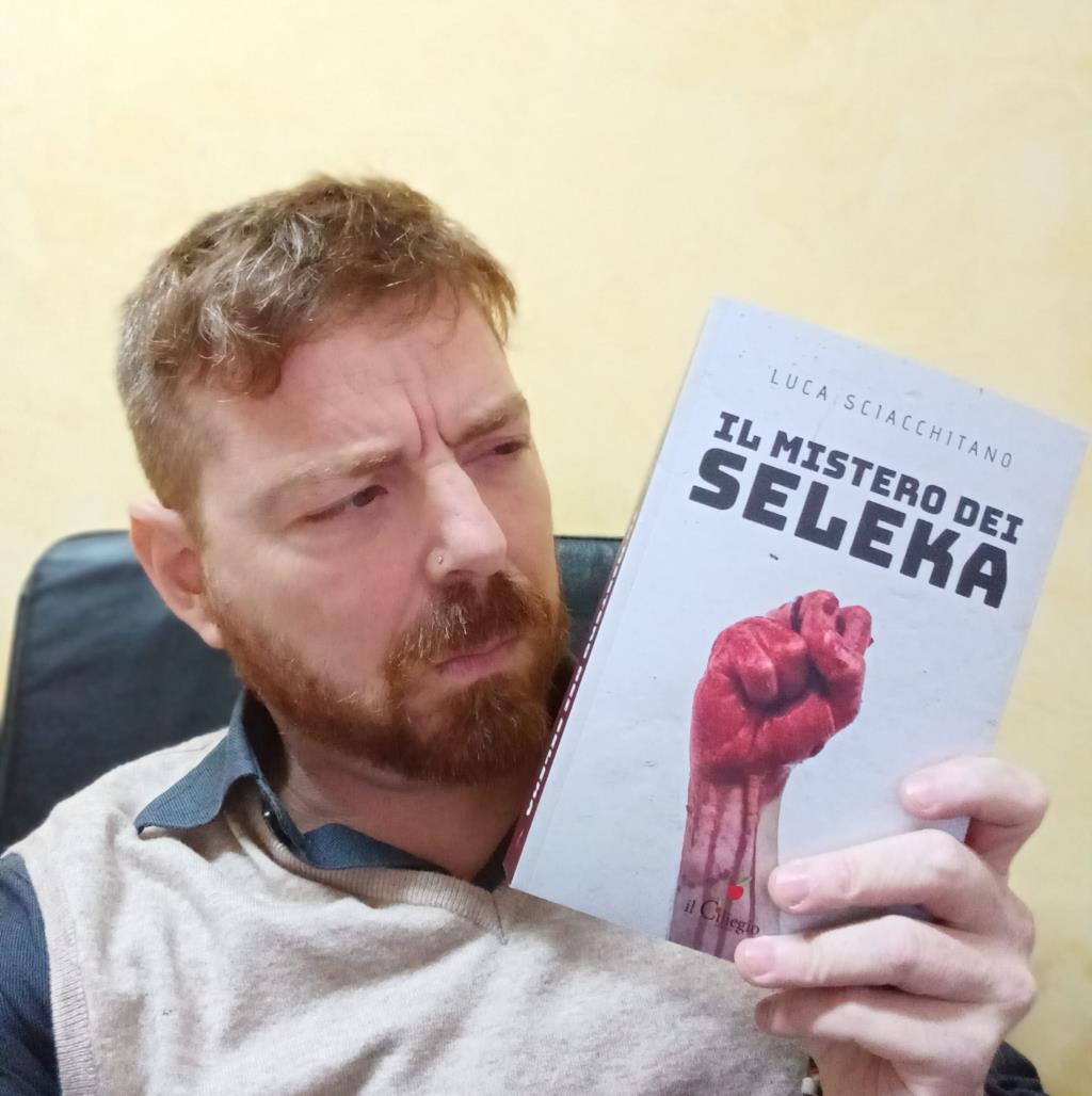 «Il Mistero dei Seleka», il nuovo romanzo di Luca Sciacchitano