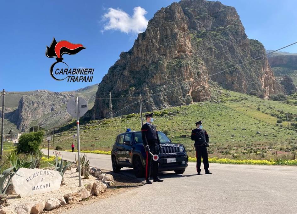 Alcamo: ventiquattrenne denunciata dai Carabinieri, aveva provocato un incidente sotto l'effetto di alcool e droga