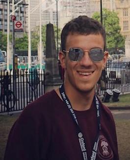 Gabriele Magaddino è il coordinatore di Italia Viva giovani